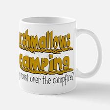 Marshmallows go Camping Mug