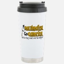 Marshmallows go Camping Travel Mug