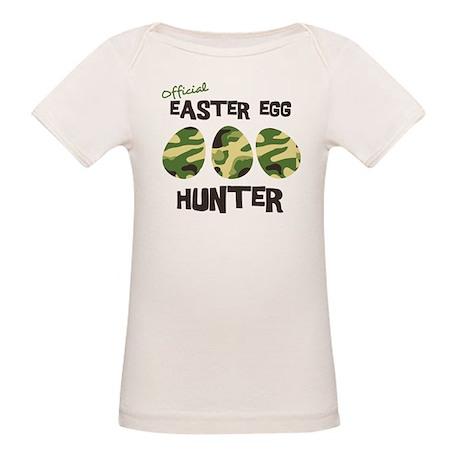 Easter Egg Hunter Organic Baby T-Shirt