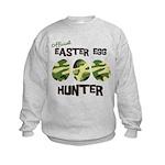 Easter Egg Hunter Kids Sweatshirt