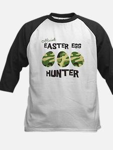 Easter Egg Hunter Kids Baseball Jersey