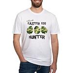 Easter Egg Hunter Fitted T-Shirt
