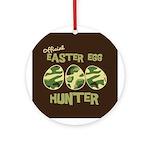 Easter Egg Hunter Ornament (Round)