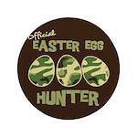 """Easter Egg Hunter 3.5"""" Button (100 pack)"""