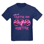 Easter Egg Hunter Kids Dark T-Shirt