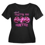 Easter Egg Hunter Women's Plus Size Scoop Neck Dar