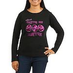 Easter Egg Hunter Women's Long Sleeve Dark T-Shirt