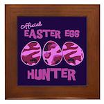Easter Egg Hunter Framed Tile