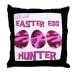 Easter Egg Hunter Throw Pillow