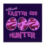 Easter Egg Hunter Tile Coaster
