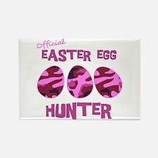Easter Egg Hunter Rectangle Magnet