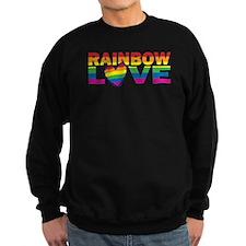 Gay Pride Rainbow Love Sweatshirt
