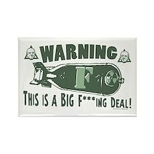 Biden Big F-Bomb Deal Rectangle Magnet