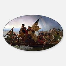 Washington Crossing the Delaware E Gottlie Decal
