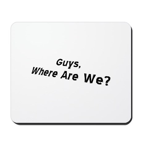 LOST Charlie: Where R We? / Mousepad
