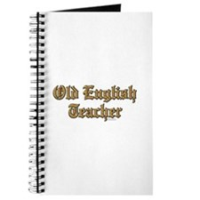 Old English Teacher Journal