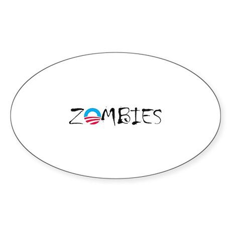 zOmbie Gear Sticker (Oval)