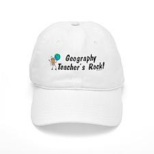 Geography Teacher's Rock Baseball Cap
