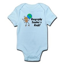 Geography Teacher's Rock Infant Bodysuit