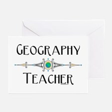 Geography Teacher Greeting Cards (Pk of 20)