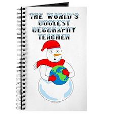 Cool Geography Teacher Journal