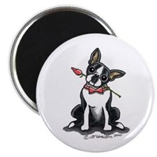 Boston Terrier Sweetheart Magnet