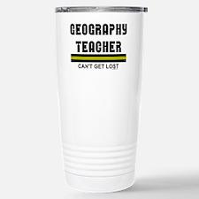 Geography Teacher Travel Mug