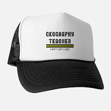Geography Teacher Trucker Hat