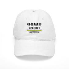 Geography Teacher Baseball Cap