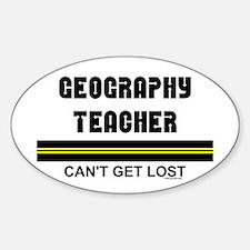 Geography Teacher Decal