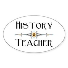 History Teacher Decal