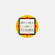 History Teacher Mini Button