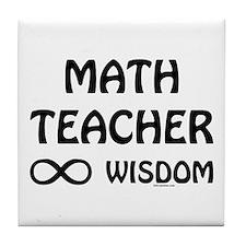 Infinite Wisdom Tile Coaster