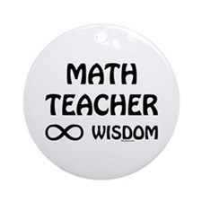 Infinite Wisdom Ornament (Round)