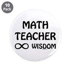 "Infinite Wisdom 3.5"" Button (10 pack)"