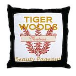 Tiger Woods Mistress Beauty P Throw Pillow