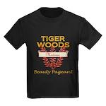 Tiger Woods Mistress Beauty P Kids Dark T-Shirt