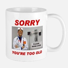 NO ROOM FOR SENIORS Mug