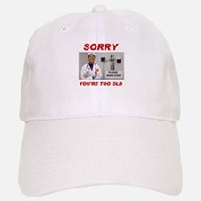 NO ROOM FOR SENIORS Baseball Baseball Cap
