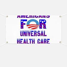 Americans FOR Universal Healt Banner