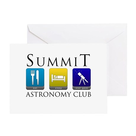 Summit Astronomy Club - Stargaze Greeting Card