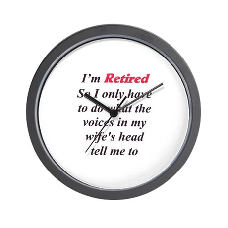 Wife's Voices tells me 2 Wall Clock