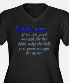 OBAMACARE: If its not good en Women's Plus Size V-