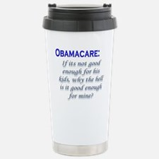 OBAMACARE: If its not good en Stainless Steel Trav