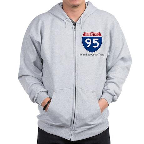 Highway 95 Zip Hoodie