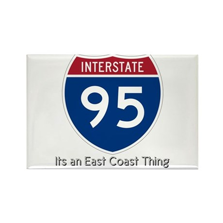 Highway 95 Rectangle Magnet (10 pack)