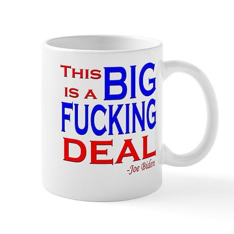 Joe Biden Quote, This is a Bi Mug