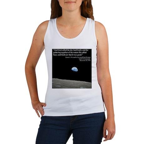 Earth Space Inspirational Women's Tank Top