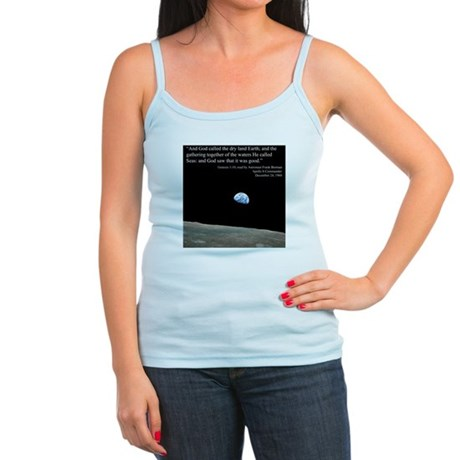 Earth Space Inspirational Jr. Spaghetti Tank