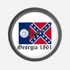 Secede Georgia Wall Clock